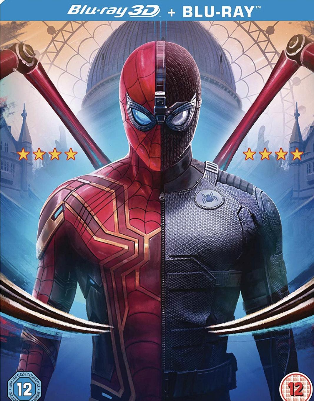 Spider-Man Far From Home DVD £9.99 at Amazon Prime / +£2.99 Non Prime