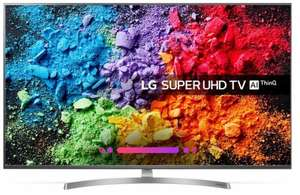 """LG 65SK8100PLA LED HDR Super UHD 4K Ultra HD Smart TV, 65"""" with Freeview Play/Freesat HD, Cinema Screen Design £756.99 at Ebuyer"""