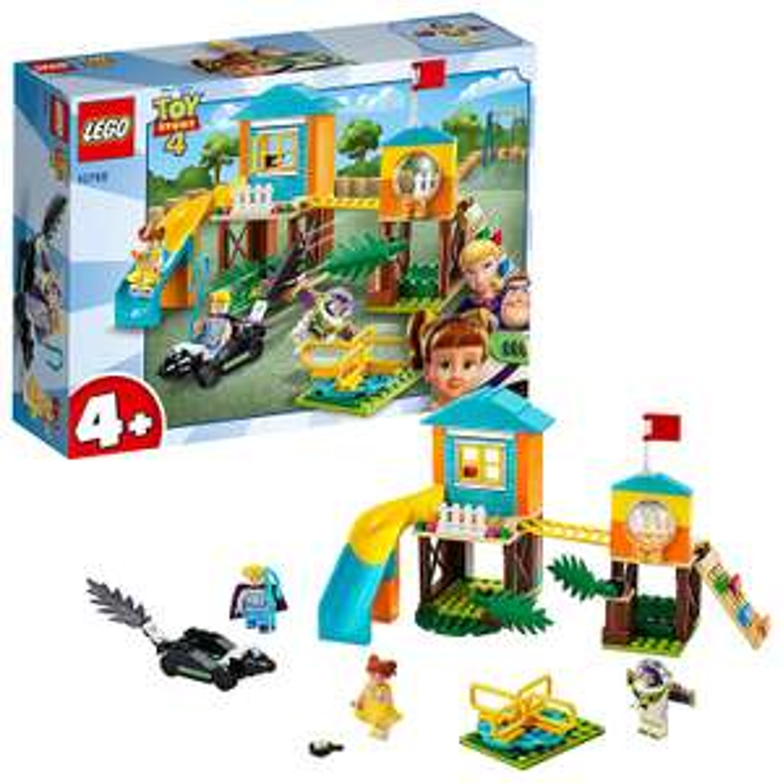 LEGO 10768 4+ Toy Story 4 Buzz and Bo Peep's Playground Adventure with Buzz Lightyear £13.33 (+£4.49 Non Prime) @ Amazon