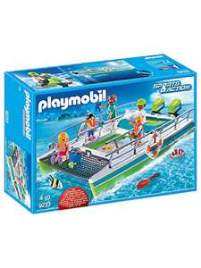 Playmobil Sports & Action 9233 Glass Bottom Boat with Underwater Motor and Magnifying Glass £14 (+£2 Click & Collect)@ John Lewis & Partners