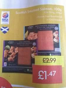 Deluxe Scottish Smoked Salmon 100g £1.47 @ Lidl 1st -3rd Nov 2019.