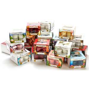 5 Boxes Yankee Candle Assorted Tealights (60 Candles) £15 / £13.50 Using Code @ Yankee Bundles
