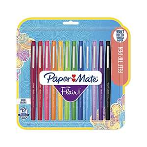 PaperMate Flair Felt Pens (12pk) £1.49 @ Home Bargains Cardiff