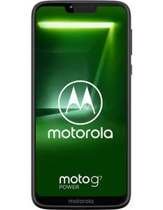Moto G7 Power - 4GB RAM/64GB ROM £89.99 @ Carphone Warehouse bundled with cancel-able 12 month SIMO