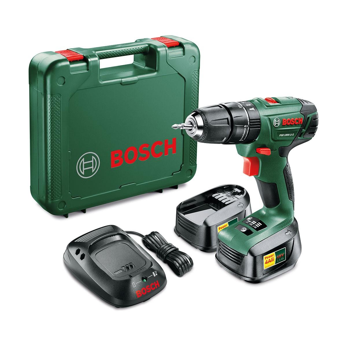 Bosch PSB Li-2 1800 18V Cordless Drill with Spare Battery & Case £67.99 @ Robert Dyas