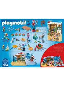 Playmobil 9264 Advent Calendar 'Santa's Workshop' With Electronic Lantern £13.99 @ Very