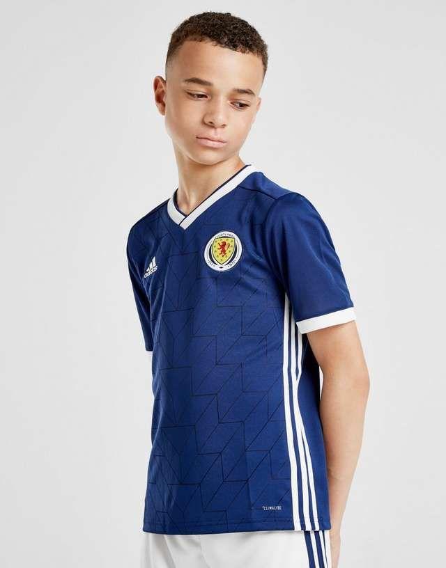 adidas Scotland 2018/19 Home Shirt Junior £10 + £1 c&c at JD Sports