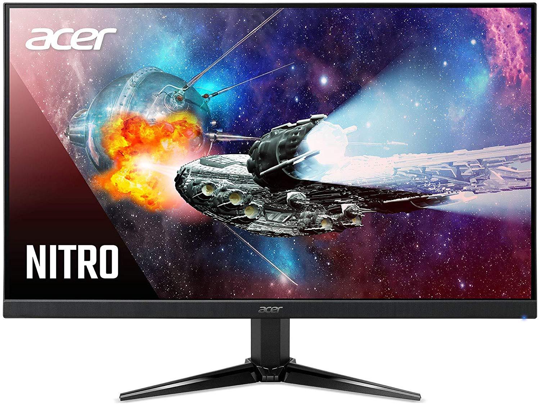 Acer Nitro VG240YPbiip 23.8 Inch FHD Gaming Monitor, Black IPS Panel, FreeSync, 144 Hz, 1ms, DP, HDMI £159.99 @ Amazon