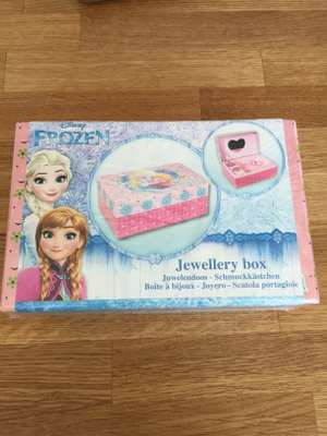 Disney frozen jewellery box only £1.99 instore Home Bargains Cardiff