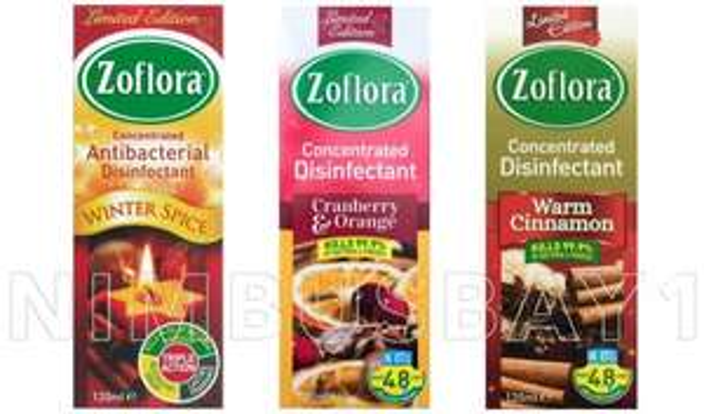Zoflora Xmas Editions (120ml) 99p @ Home Bargains