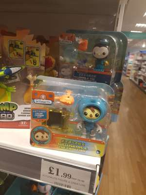 Octonauts figures £1.99 Home Bargains Belle Vale Liverpool