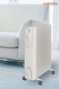 warmlite 2500w oil filled radiator £13 @ Next online free Click & Collect