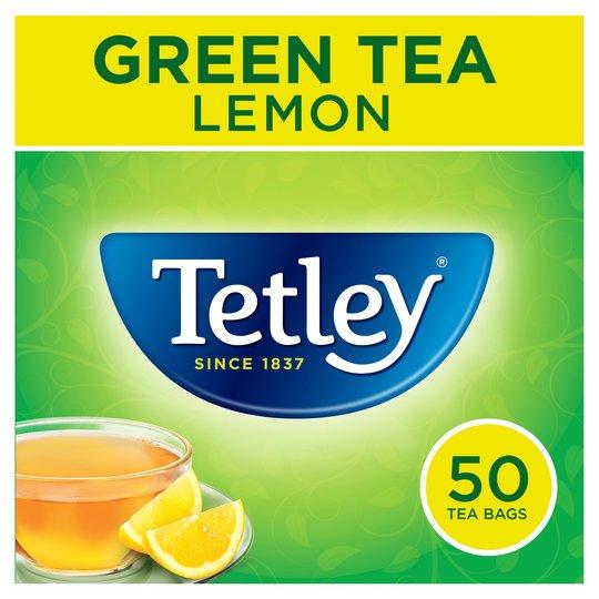Tetley green tea with lemon £1.25 @ Sainsbury's