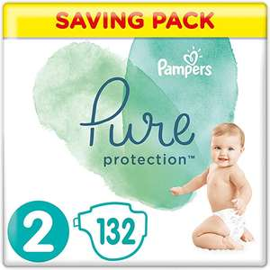 Pampers Pure Protection Size 1-5 massively discounted. Price included above is Size 2 (132 pack) delivered @ Amazon (4.49 non-prime)