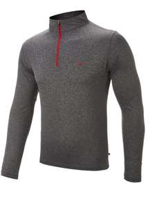 Calvin Klein Grey Marl Golf 1/4 Zip Sweater £19.99 (+£3.95 delivery) @ County Golf