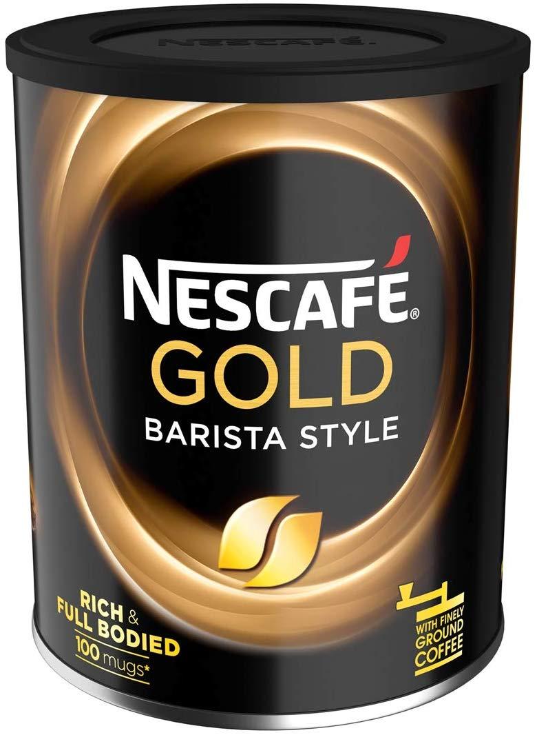 Nescafe Gold Blend Barista Style Instant Coffee 4x180g £15.28 (+£4.49 Non Prime) @ Amazon