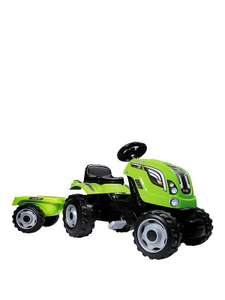 Green tractor with trailer £66.49 @ Very