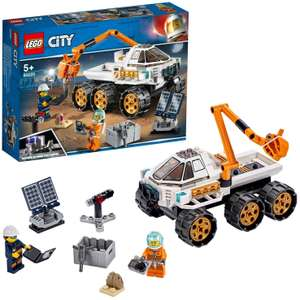 LEGO 60225 City Rover Testing Drive, Space Adventure Mars Expedition Vehicle Toy inspired by NASA £12.60 @ Amazon Prime / £17.09 Non Prime