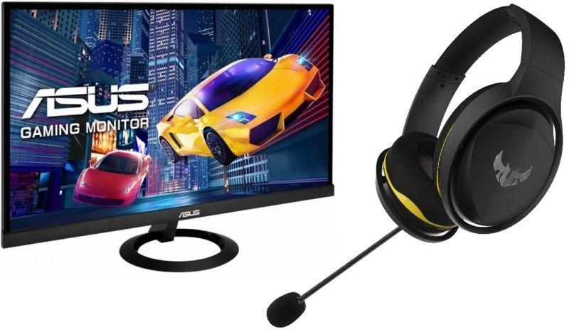"""ASUS VX279HG 27"""" Full HD IPS 1ms Gaming Monitor plus free TUF H5 gaming headset £159.99 at Ebuyer"""