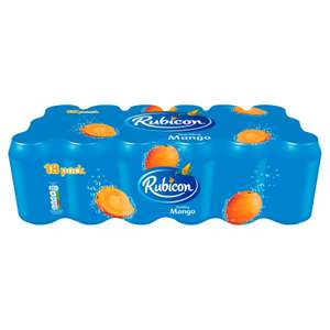 Rubicon Sparkling Mango (18 x 330ml cans) for £6 @ Iceland