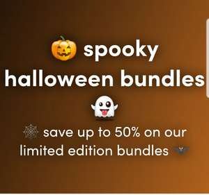Spooky Halloween Deals - save up to 50% on our limited edition bundles @ GRAZE