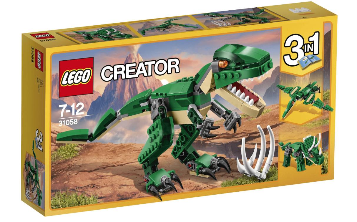 LEGO Creator Mighty Dinosaurs - £8.97 at Asda