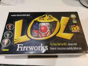 Aldi LOL Firework Selection Box - £9.99 (Not Available in N.Ireland)