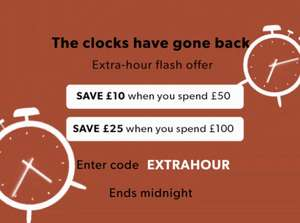 £10 Off £50 Spend, £25 Off £100 Spend + 25% Off All Coats @ New Look