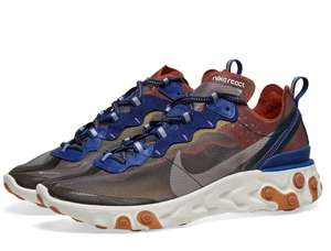 Mid season sale on footwear at End clothing e.g Nike React Element 87 £91.95 delivered