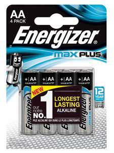 2 packs (8 batteries) Energizer Max Plus AA batteries £5.50 @ Sainsbury's