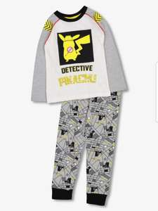Pokemon Detective Pikachu Grey Pyjamas - 4 -5 Years (other sizes available) £8.25 @ Sainsbury's Tu - Free Click & Collect
