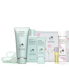 Liz Earle Daily Routine set 7 items for £41.65 (for new customers & with code) - plus free deluxe travel size with code at Liz Earle