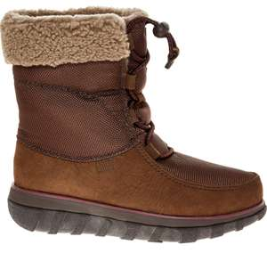 Fitflop brown leather ankle boot £49.99 + £1.99 click & collect @ tk maxx