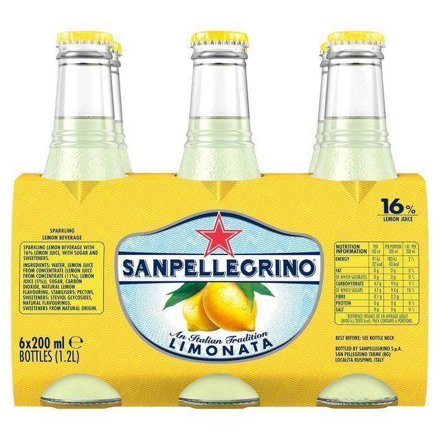 Sanpellegrino lemon & orange x6 bottles only £1.99 @ tk maxx hartlepool