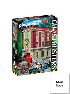 Playmobil Ghostbusters Firehouse 9219 - £42.99 @ Very (Free Click & Collect)