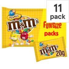 M&M Peanut Fun Size 220G - 11 pack - £1 Instore @ B&M (Liverpool)