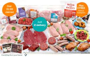 Muscle food, Buy one super lean hamper get 3 free £53 delivered