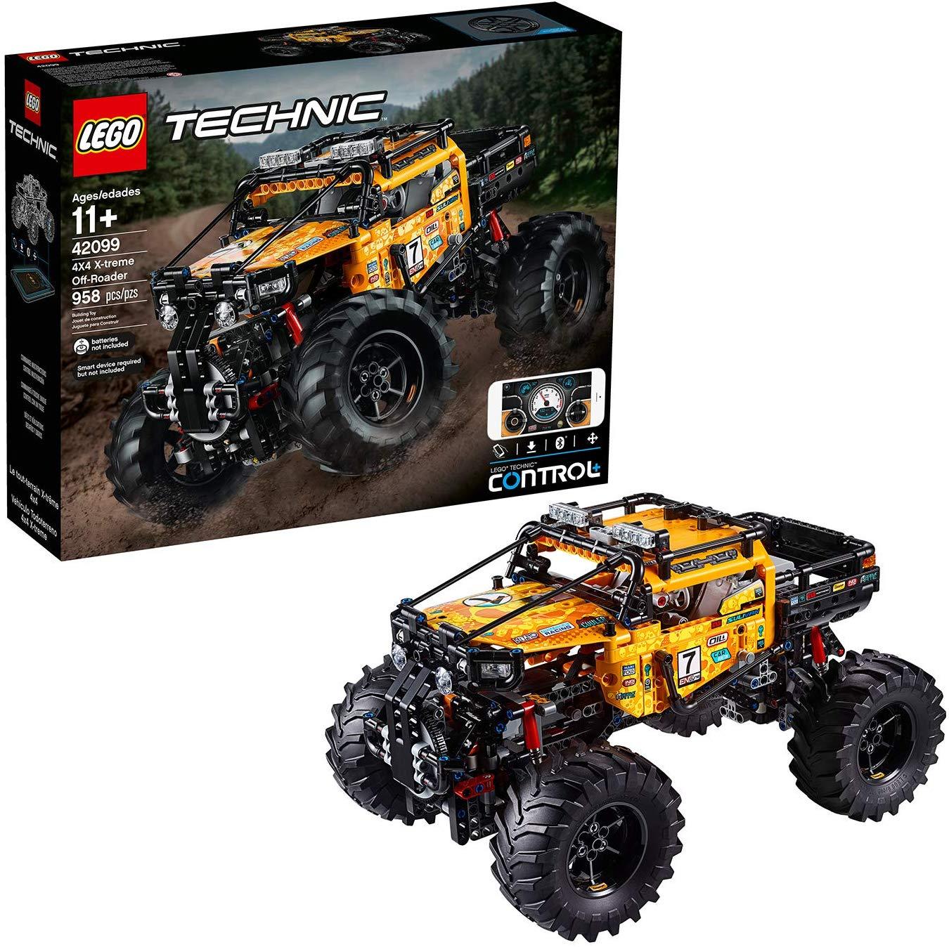 LEGO 42099 Technic Control+ 4x4 X-treme Off-Roader Truck App Controlled Construction Set - £145 @ Amazon