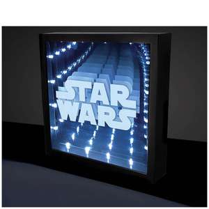 Star Wars infinity light/wall picture - £7.49 plus £2.99 Del - unless order over £30