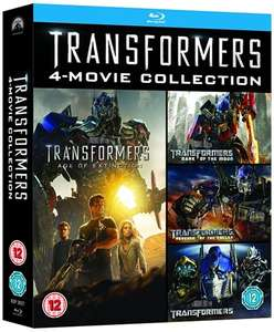 Transformers: 4-movie Collection - Cex £5 (+£1.50 delivered)