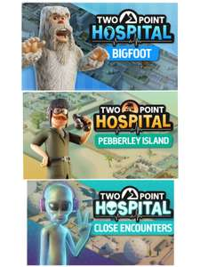 [Steam] Two Point Hospital (PC) DLC'S - Bigfoot £3.06 / Pebberley Island £4.11 / Close Encounters £4.89 with code @ Fanatical