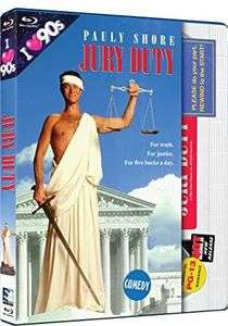 Jury Duty [Blu-ray] - Pauly Shore - Region Free with retro VHS slipcover - £6.54 delivered @ WowHD