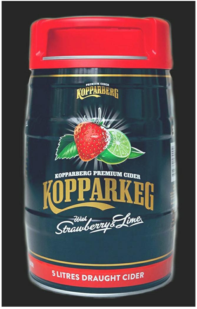 Kopparberg Strawberry & Lime Keg - £10.99 Instore at B&M (Stockton)