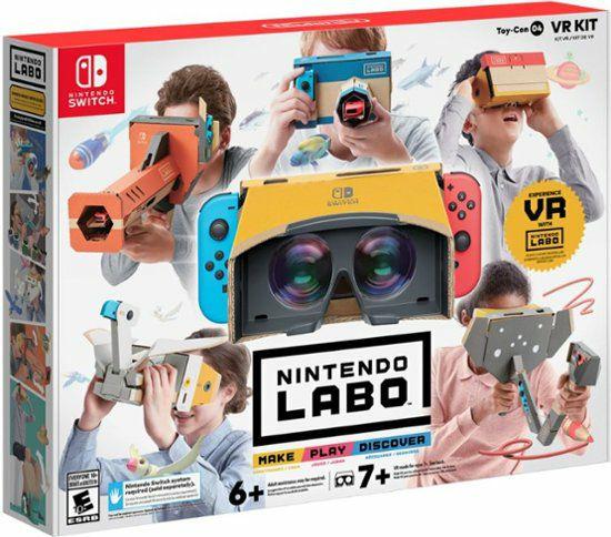 Nintendo Labo: VR Kit for Nintendo Switch £54.95 @ Coolshop