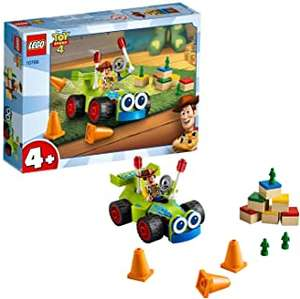LEGO 10766 4+ Toy Story 4 Woody and RC Set with Minifigure £5.99 prime / £10.48 non prime @ Amazon
