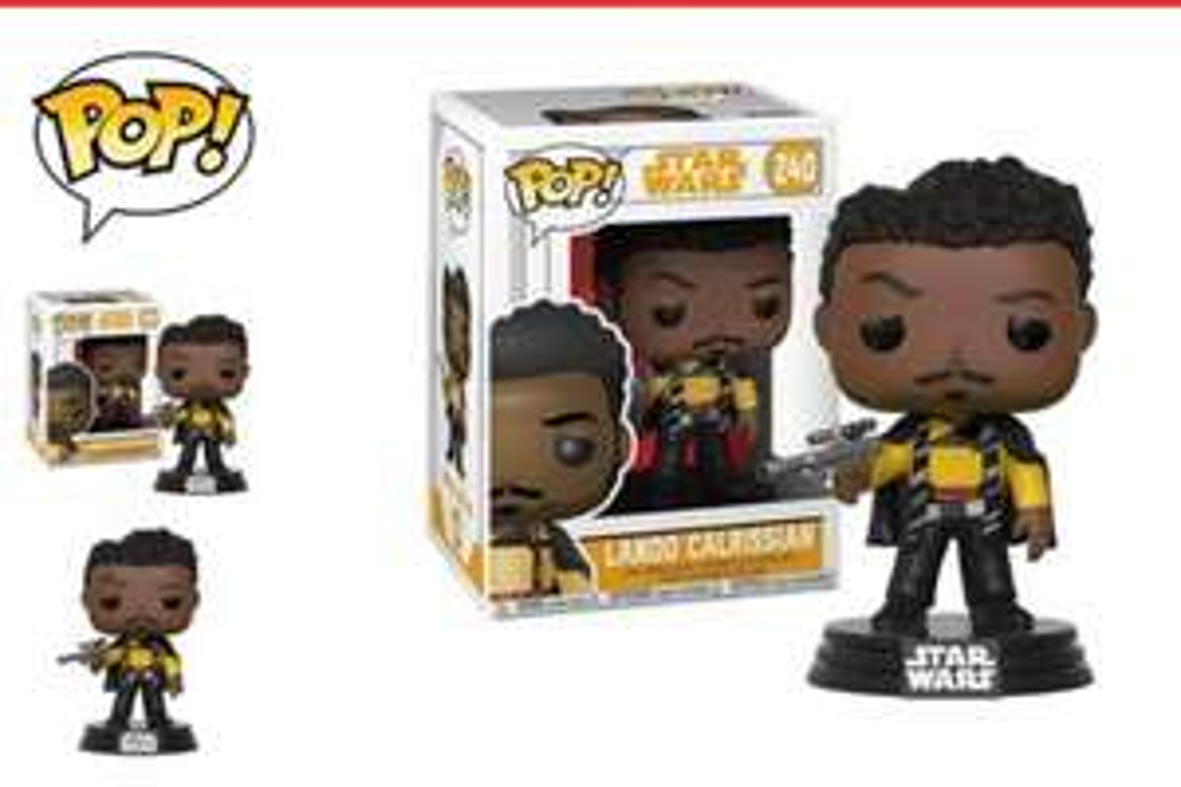 POP! STAR WARS Lando Calrissian - Home Bargains - £2.99