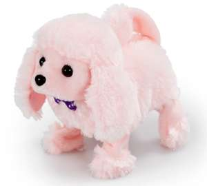 Pitter Patter Pets Playful Puppy Pal - Pink Poodle £6.50 @ The Entertainer