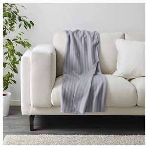 VITMOSSA Throw in Grey 120x160 cm £1.75 @ IKEA