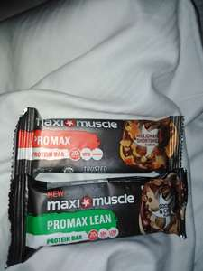 Maxi muscle protein bars - 69p Instore @ Poundstretcher (Southport)