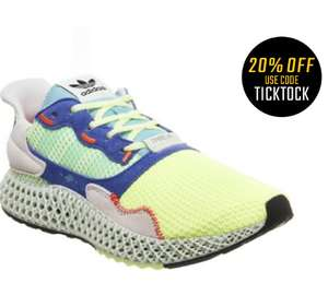 Adidas Zx-4000 4d running shoes - £184 (With Code) @ Offspring